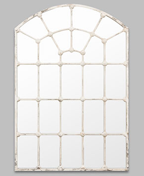 Arched Gate Provincial White