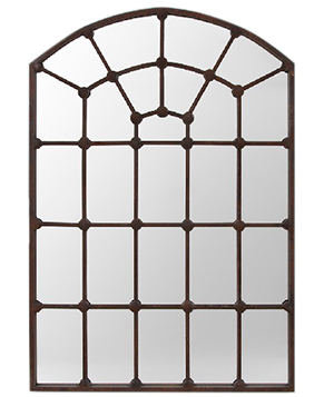 Arched Gate Rustic Antique Bronze