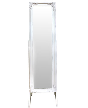 Carla Jewellery Cabinet White ON SALE