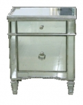 Vintage Mirrored Bedside